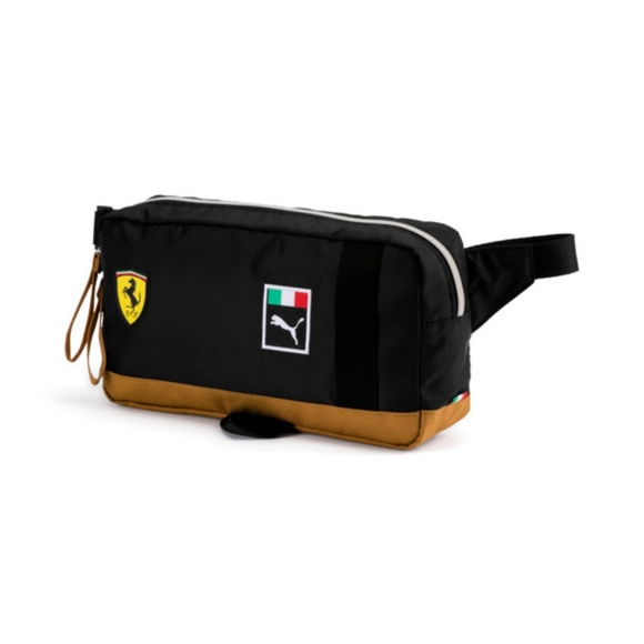 29d6054796 Puma Bags | Ferrari Waist Bag Fanny Pack New Nwt Black | Poshmark